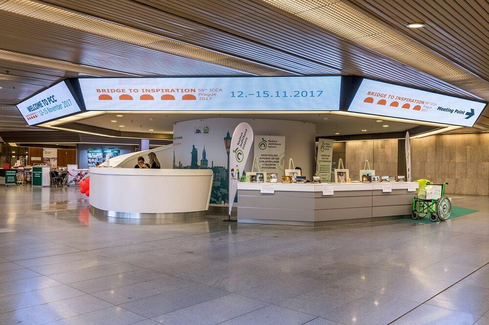 Kongresové centrum Praha – LED obrazovky