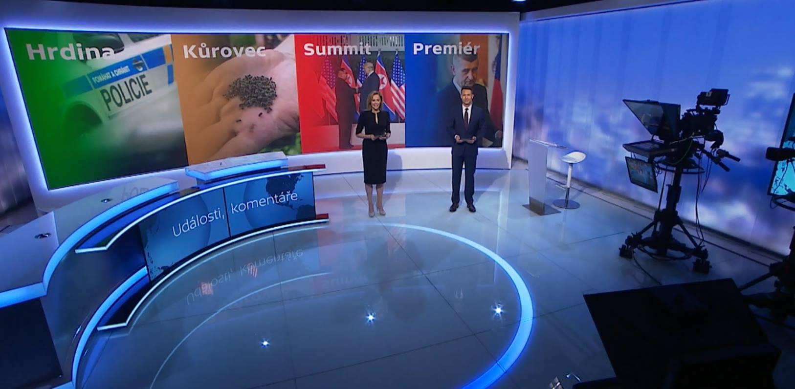 Nové studio České Televize