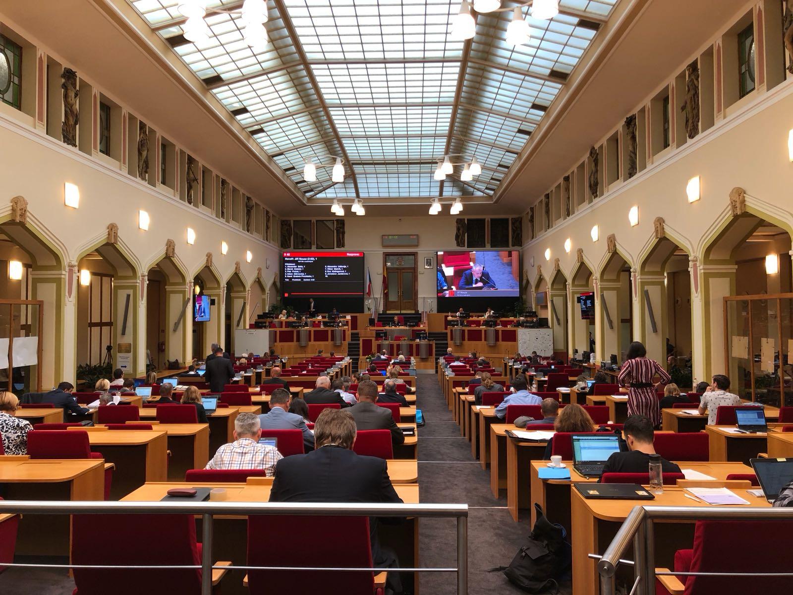 Nový zobrazovací a kamerový systém na pražském Magistrátu