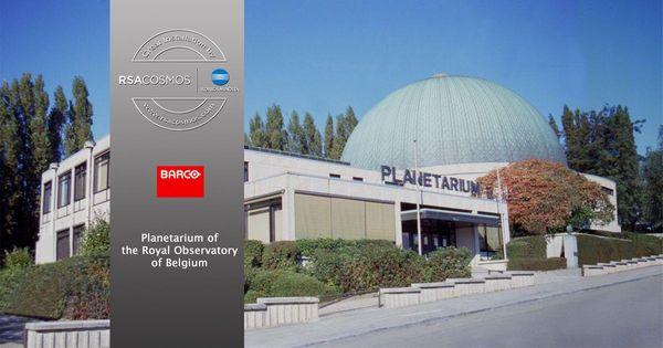 Projektory Barco společně s řešením od společnosti RSA Cosmos  poskytují hvězdné zážitky pro přední belgické planetárium.