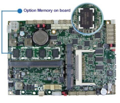 Option Memory on board
