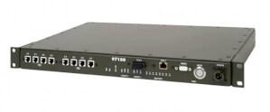 VoIP gateway Aqeri 97100 s výškou 1U zabudovatelná do 19'' racku