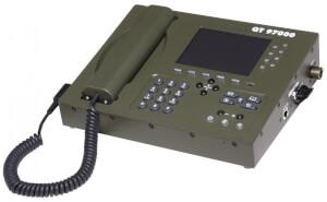 Odolný IP telefon Aqeri 97075 s optickým rozhraním
