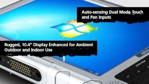 Xplore iX104C5 DMCR- odolné tablet PC pro užití v laboratorním prostředí s procesorem Intel® Core™ i7