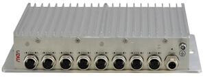 NM30 Managed 8-Port Rugged Ethernet Switch EN50155