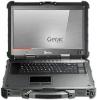 Getac X500 - odolný notebook s 15.6'' Full HD displejem a procesorem Intel® Core™ i7