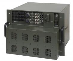 Odolný vysokokapacitní router Aqeri 96600 s výškou 8U pro zabudování do 19'' racku