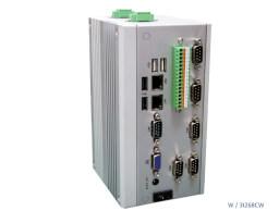 Pasivně chlazené průmyslové Box PC typu DIN-Rail LexCom LexSystem MIRO-3 3 Layers