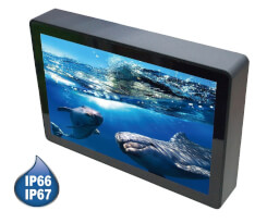 "LexCom 10.1"" SHARK Bezel-free Waterproof Panel PC - s deskou 2I385HW"