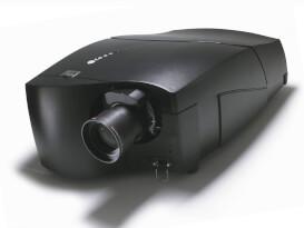 První aktivní 3D stereoskopický projektor Barco Galaxy NW-12.