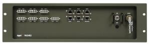 Odolný switch Aqeri 962482 s výškou 3U pro zabudování do 19'' racku