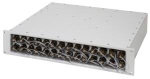 Odolný switch Aqeri 96247-1 s výškou 2U pro zabudování do 19'' racku