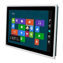 "Fanless 15.6"" Wide-Screen Industrial Panel PC Arbor ASLAN-W715C s proceosrem Intel® J1900 Quad-Core™"