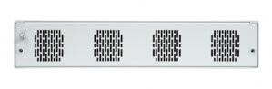 Odolný switch Aqeri 96247 s výškou 2U pro zabudování do 19'' racku