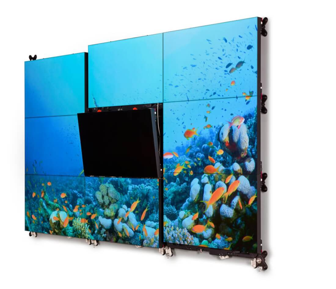 Barco UniSee – bezrámečková LCD videostěna