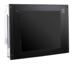 """MEN DC15 - Rugged 10.4"""" Panel PC with Front Keys or Touch Screen"""