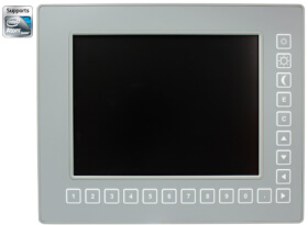 """MEN DC13 - Rugged 8.4"""" Panel PC with Front Keys"""